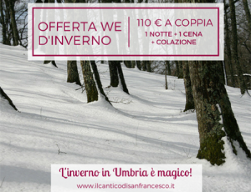 "Offerta ""weekend invernali in agriturismo"" ad Assisi"