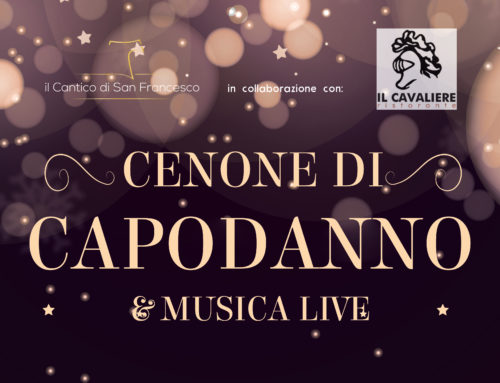 New Year's Eve Dinner 2019 at Il Cantico di San Francesco