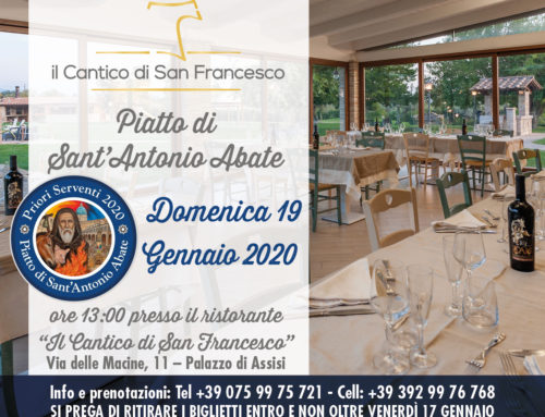Plate of Sant'Antonio Abate 2020